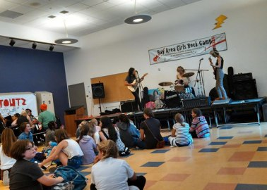 Bay Area Girls Rock Club afternoon concert