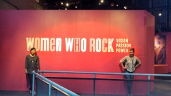Women Who Rock exhibition at EMP, Seattle.